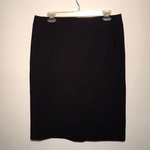 CALVIN KLEIN PENCIL SKIRT, black, size 10